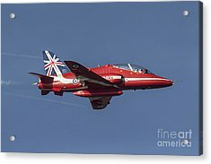 Red Arrows 50 Display Seasons Acrylic Print by J Biggadike