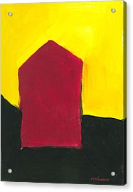Red Arthouse Acrylic Print