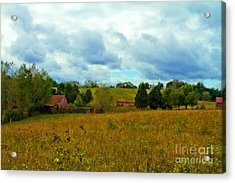 Red Barn Six Acrylic Print