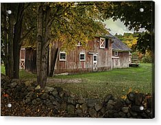 Connecticut Red Barn Acrylic Print