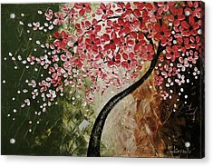 Red Blossoms  Acrylic Print by Tomoko Koyama