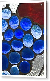 Red Blue Acrylic Print