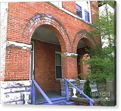 Acrylic Print featuring the photograph Red Brick Archway by Becky Lupe