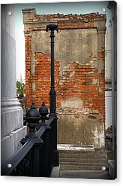 Red Bricks Acrylic Print
