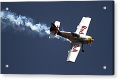 Red Bull - Aerobatic Flight Acrylic Print