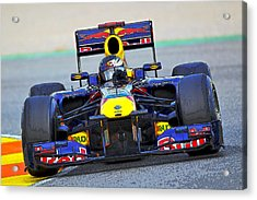 Red Bull Formula 1 Racing Acrylic Print