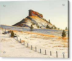 Red Butte Acrylic Print