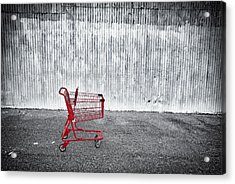 Red Cart Acrylic Print