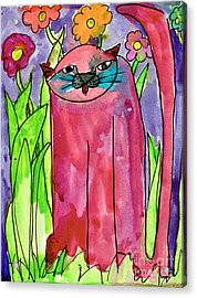 Red Cat Acrylic Print