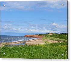 Red Cliffs Of Pei Acrylic Print
