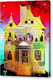 Red Cloud Mansion Acrylic Print