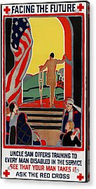 Red Cross Poster, 1919 Acrylic Print by Granger