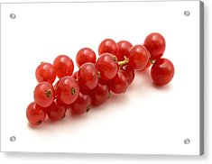 Acrylic Print featuring the photograph Red Currant by Fabrizio Troiani
