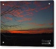 Red Dawn Lv Acrylic Print