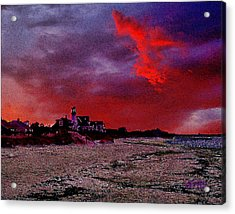 Red Dawn Acrylic Print