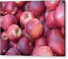 Acrylic Print featuring the photograph Red Delicious by Joseph Skompski
