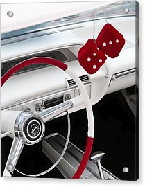 Red Dice Acrylic Print by Phil 'motography' Clark