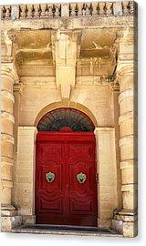 Red Door Acrylic Print