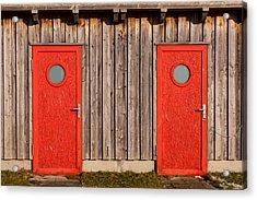 Red Door Or Red Door Acrylic Print