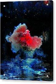 Red Dwarf Acrylic Print by Petros Yiannakas