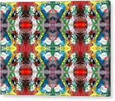 Red Eye Acrylic Print by Sumit Mehndiratta