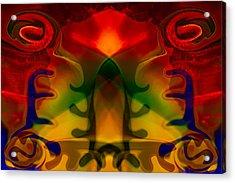 Red-eyes Black Dragon Acrylic Print by Omaste Witkowski