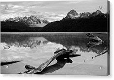 Red Fish Lake Idaho Acrylic Print