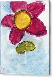 Red Flower Acrylic Print by Skip Nall