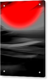 Red Giant Acrylic Print by Terence Morrissey