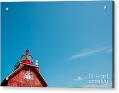 Red Guide Acrylic Print