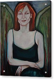 Red-headed Angel Acrylic Print