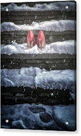Red High Heels Acrylic Print by Joana Kruse