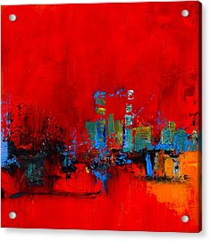 Red Inspiration Acrylic Print