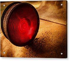 Red Light Acrylic Print