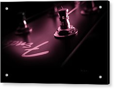 Red Light District  Acrylic Print by Bob Orsillo