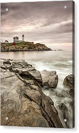 Red Light Acrylic Print by Jon Glaser