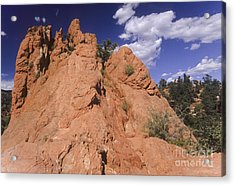 Red Lyons Sandstone Rock Formation Acrylic Print