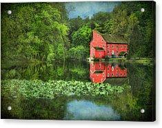 Red Mill Art Acrylic Print