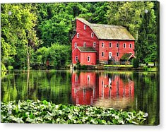 Red Mill Topaz Acrylic Print
