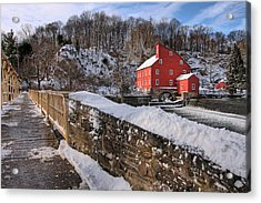 Red Mill Winter 2009 Acrylic Print