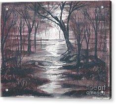 Red Mist  Acrylic Print