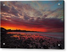 Red Morning Acrylic Print by EXparte SE