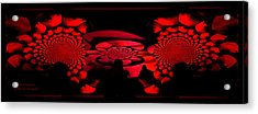 Acrylic Print featuring the photograph Red October by Robert Kernodle