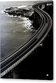 Red One Goes Faster. Acrylic Print