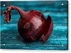 Red Onions Acrylic Print