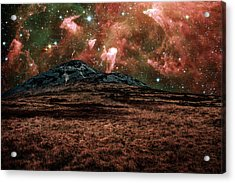Red Planet Acrylic Print by Semmick Photo