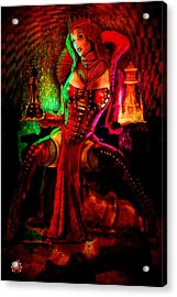 Red Queen Acrylic Print