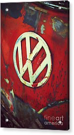 Red Rat Dub Acrylic Print by Tim Gainey