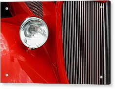 Red Red Roadster Acrylic Print