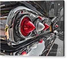 Red Reflection Acrylic Print by Hot Rod Pics